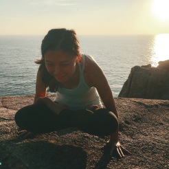 KrisYoga - Outdoor Yoga, Lifted Lotus Pose, Hong Kong