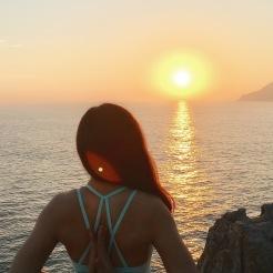 KrisYoga - Outdoor Yoga, Reversed Namaste, Hong Kong