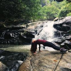 KrisYoga - Outdoor Yoga, Inverted Plank, Hong Kong