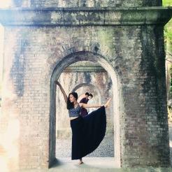 KrisYoga - Travel Yoga, Hand to Toe Leg Balancing, Kyoto