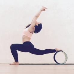 KrisYoga - Yoga Wheel, Warrior 1, Hong Kong