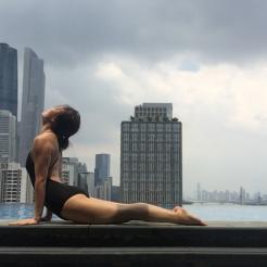 KrisYoga - Poolside Yoga, Cobra, Guangzhou