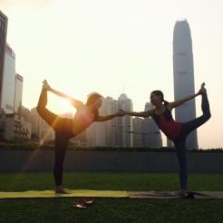 KrisYoga - Partner Dancer Pose
