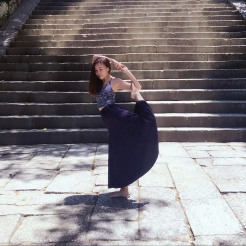 KrisYoga - Travel Yoga, Mermaid Dancer Pose, Hong Kong